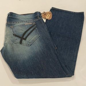 BNWT William Rust Billy Flare Men's Jeans Size 36